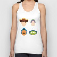 toy story Tank Tops featuring Toy Story by Raquel Segal