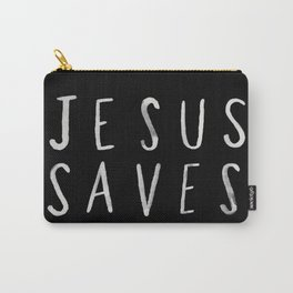 Jesus Saves II Carry-All Pouch