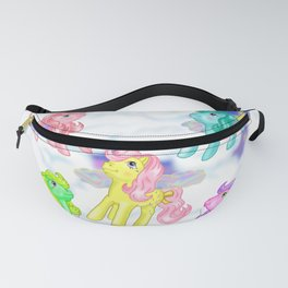 g1 my little pony Flutter ponies backcard inspired Fanny Pack