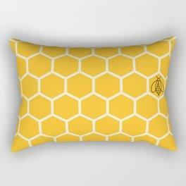 Sunshine Honeycomb Rectangular Pillow