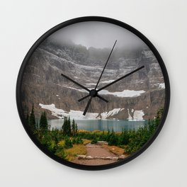 The Mountain Lake Wall Clock