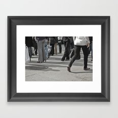 Still Motion Framed Art Print