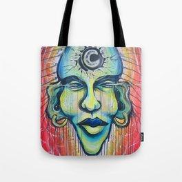 Moon God Tote Bag