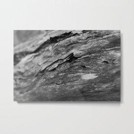 Wooden Metal Print