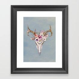 Deer Skull 2 Framed Art Print