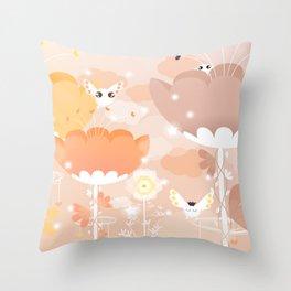 Welcome to the Star Garden ! Throw Pillow