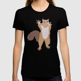 Baesic I Can't Reach Squirrel T-shirt