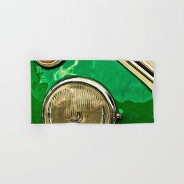 Vintage 21-window classic in green wall art - photograph Hand & Bath Towel