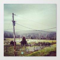 farm Canvas Prints featuring Farm by sharinerin