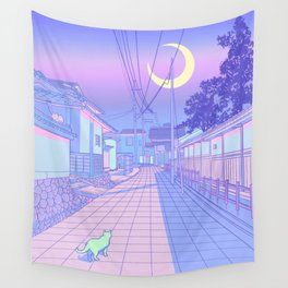Kyoto Nights Wall Tapestry