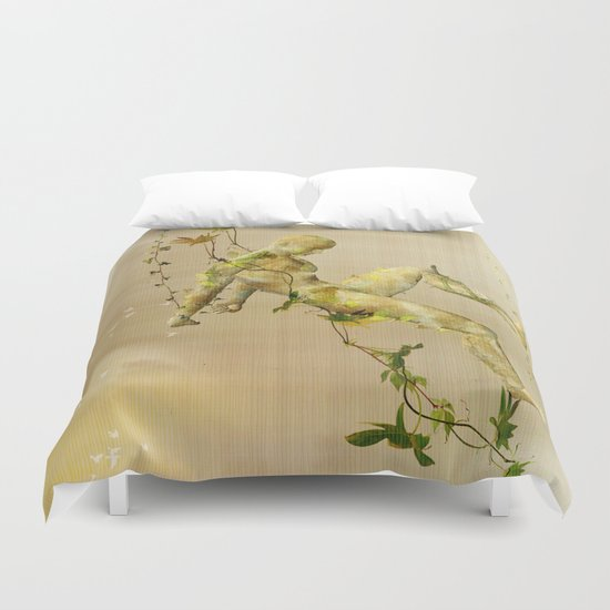 The man vegetable Duvet Cover