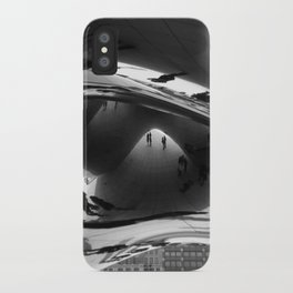 Her first day in Chicago iPhone Case