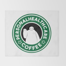 Personal Healthcare Coffee Throw Blanket