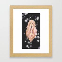 Wintery Magic II Framed Art Print