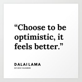 17  | Dalai Lama Quote | 191231 Art Print