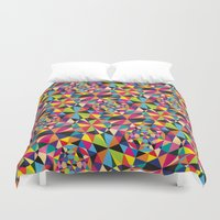 drive Duvet Covers featuring Drive by Takeshi