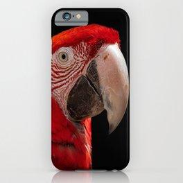 Ara Chloroptera iPhone Case