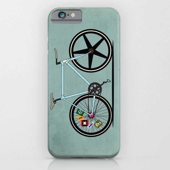 Fixie Bike iPhone & iPod Case