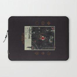 Cosmic Black Laptop Sleeve