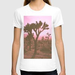 Rosy Haze In Joshua Tree T-shirt