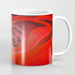 The Heart of the Rose Coffee Mug