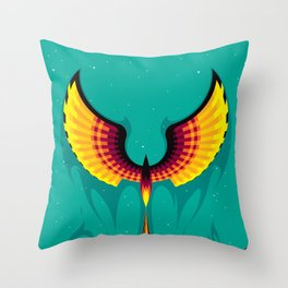 Phoenix Hope Throw Pillow