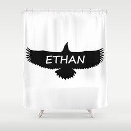Ethan Eagle Shower Curtain