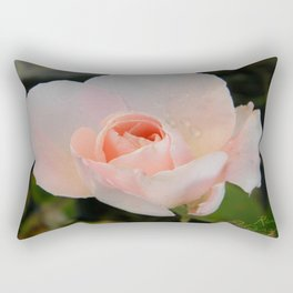 rainy flower Rectangular Pillow