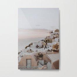 santorini x / greece Metal Print