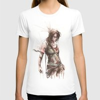 megan lara T-shirts featuring Lara by Alonzo Canto
