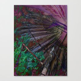 Palms of the the Patriarch Canvas Print
