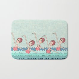 together we are one! Bath Mat
