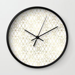 Modern Art Deco Geometric 1 Wall Clock