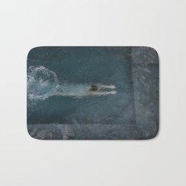 Woman Diving Bath Mat