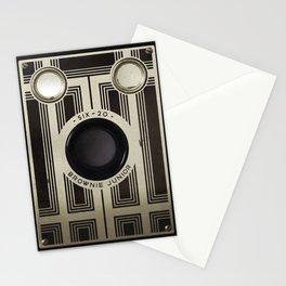 Six 20 Camera Stationery Cards