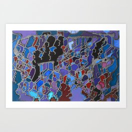 MT Olympus Art Print
