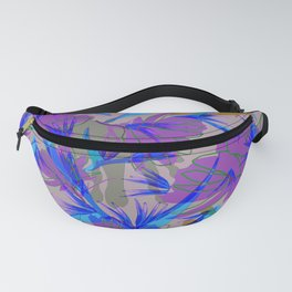 Bird of Paradise and Cosmos Fanny Pack