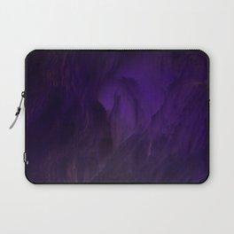 Ultraviolet marble Laptop Sleeve