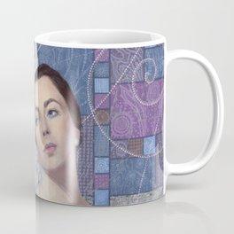 Elizabeth Taylor, Old Hollywood, Celebrity Portrait Coffee Mug