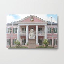 Parliament Square, Nassau, The Bahamas Metal Print