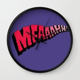 MFAAAHHH!! Wall Clock