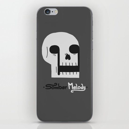 Somber Melody iPhone & iPod Skin
