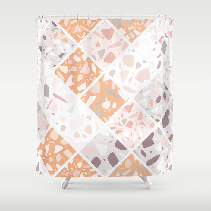 Terrazzo 022 Shower Curtain