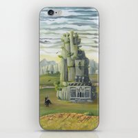 shadow of the colossus iPhone & iPod Skins featuring Shadow of the Colossus by mixedlies