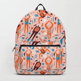 Swimmers in pink Backpack