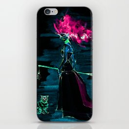 Evil Elphaba the wicked Witch iPhone Skin