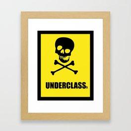 Underclass Framed Art Print