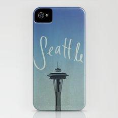 Seattle iPhone (4, 4s) Slim Case