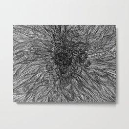 Turmoil. Metal Print