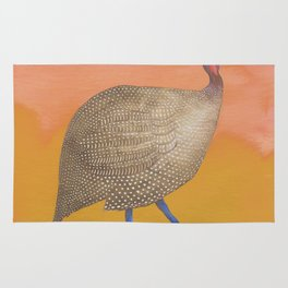 Boho exotic bird Rug